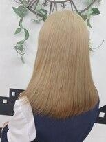 ヘアーサロン エール 原宿(hair salon ailes)(ailes 原宿)style449 ストレート☆ロイヤルミルクティー
