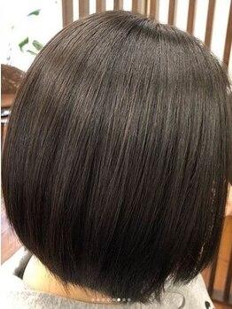 """フランジパニ(FRANGPANI)の写真/""""老化毛""""と""""ダメージ""""この2つを修復することでほとんどのクセは解消されます!FRANGPANIで本物の髪質改善を!"""