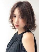 アグ ヘアー ロッソ 福島店(Agu hair rosso)《Agu hair》色っぽかわいい大人ロブ