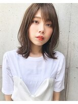 くびれレイヤーボブフォギーベージュ SC☆10美髪 【荒木洋文】