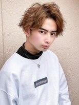 《Agu hair》センターパートルーズウェーブ