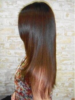 ヘアメイク ケシキ(Hair make Keshiki)の写真/大人女性の楽しみを[Keshiki]で。繰り返しても傷まず仕上げてくれるので、気軽にメンテナンスが出来る♪