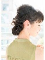 【LAD hair】黒髪ツイストシニヨン☆