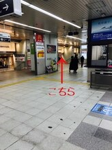 ☆GRAN LUSSO 来店経路☆ビックカメラ岡山駅前店営業時間外~朝10時以前と夜21時以降はこちら~