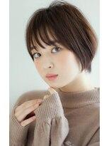 リル ヘアーデザイン(Rire hair design)【Rire-リル銀座-】ひし形ナチュラルショートボブ