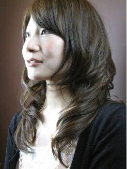 ルーエ ヘア デザイン(Ruhe hair design)の写真/【カット+カラー¥5400】髪に負担をかけない『ヒーリングCut』&1人1人に合わせたカラー提案で理想を実現♪