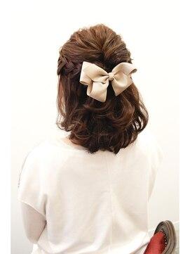 【特徴別】結婚式でのボブのヘアアレンジ|着物/30代