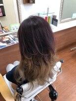 ヘアーステージエルコレクション(HairStageEll collection)レイヤースタイルのグラデーション