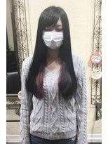★インナーカラーに白マスクをしたら、、、★【SOMEBRIDGE亀有】