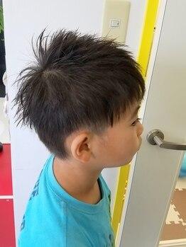 ヘアーストーリー リング(Hair story Ring)の写真/【キッズスペースあり】小さなお子様がいて中々ゆっくり出来ない方に♪駐車場も広く空き時間に通いやすい◎