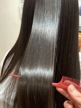 ルシード(LUCIDO STYLE JAPAN)の写真/カラーやパーマ、縮毛矯正によるダメージ、日常生活でのダメージでパサつき/枝毛/まとまりにくい悩みを解決