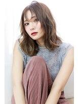 ラフィス ヘアーピュール 梅田茶屋町店(La fith hair pur)【La fith】 トレンド×ミディアムスタイル
