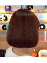 ハイヴ ヘアライン(Hi-ve hairline)自然な丸みがかわいいキュートボブスタイル