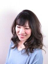 アイリー ヘアサロン(Irie hair salon)ほんのりバレイヤージュグラデーションカラー♪