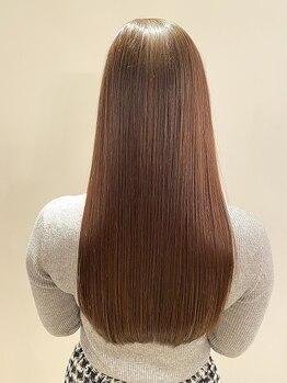 グランドライン(GRAND LINE)の写真/[雑誌ar掲載店]今話題!《高濃度水素ミネコラ縮毛矯正》GRAND LINEで可愛く綺麗に生まれ変わる美髪を実現♪