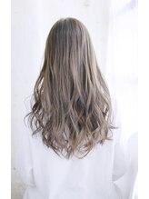 ジェムヘアスタジオ 湘南平塚南口店(Gem Hair Studio)透け感ミルクティーベージュカラー