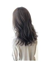 モーブヘアー(mauve hair)