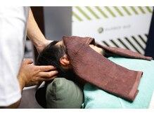 バーバーバー 都賀(BARBER-BAR)の雰囲気(話題の頭筋膜リリースで寝落ち続出。眠りの質を改善。<理容室>)