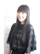 ラル ヘアデザイン(ral hair design)黒髪×ストレート