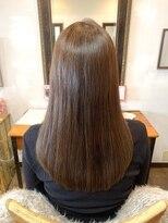ミーノ(mieno)極上艶髪♪大人可愛い☆ブラウン