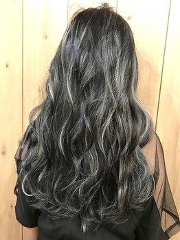 アンカルヘアー(ancal hair)の写真/嬉しいカット込み♪Trと組み合わせてさらに長持ち!!カラーコース+プレミアムトリートメント/¥15300→¥11300