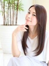 フルー 学芸大学店(Fleu r)【大人女性のツヤ髪ストレートロング】