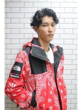 セシルヘアー 岡山駅前店(Cecil hair)モカアッシュナチュラルカール
