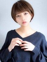 【石橋千紘】大人かわいいショート小顔ショートボブ20代30代40代