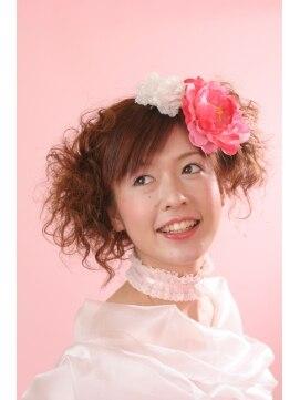 ヘアーアンドメイクアップ エムケイ(hair&make up MK)♪結婚式・パーティーヘアセット♪ by MK