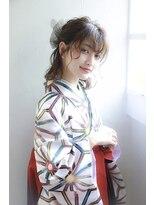 【御茶ノ水 neolive7】卒業式袴着付け セットメイク♪