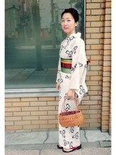 ≪浴衣着付け+ヘアセット¥5400≫浴衣のお出掛けもメゾンジュウニにおまかせ♪