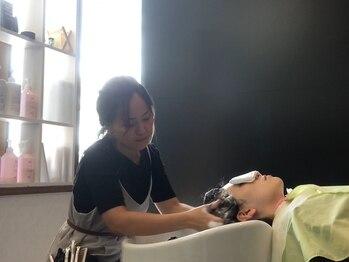グリームス(GLEAMS)の写真/髪のお悩みが気になり始める大人女性に人気のヘッドスパ☆癒されながら頭皮と髪に潤いを与えます…♪