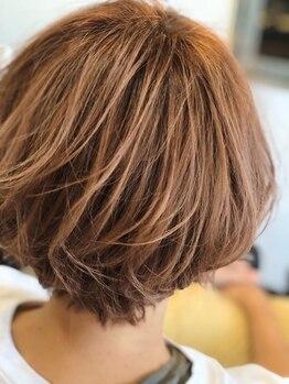 ヘアーメイク プラス(Hair Make Pluss)の写真/≪最旬ヘアカラーならお任せ下さい☆≫人気のアディクシーカラーがイチオシ♪赤みをキレイにカバーします!