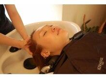 シエクル ヘアアンドスパ 渋谷店(SIECLE hair&spa)の雰囲気(スパはフルフラットのYUMEシャンプーで極上の癒しを提供します。)