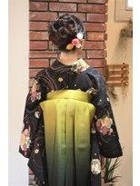 ミネット(Minette)袴で卒業式