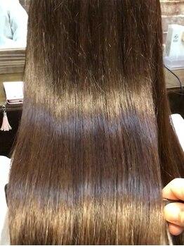 エイル(eir)の写真/【★話題沸騰中】活性ケラチントリートメントで髪質改善!自分史上最高の艶を*