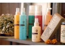 セリース(cerise)の雰囲気(髪や頭皮、環境にもやさしいオーガニック製品も扱ってます☆)