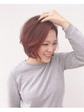 ヘアデザイン ダブル(hair design Double)ショートグラボブ