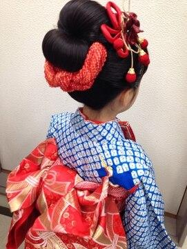 美容室せき七五三 新日本髪
