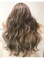 バンクスヘアー(BANK'S HAIR)beige blonde highlight gradation