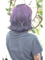 ヘアーサロン エール 原宿(hair salon ailes)(ailes原宿)style324 デザインカラー☆ヴァイオレットグラデ