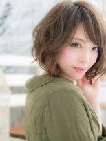 ■抜け感濡れ髪アンニュイ小顔ボブルフ10-47★上尾20代30代40代