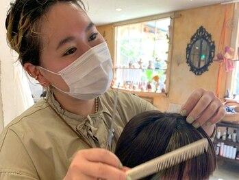 ヴァンダンジュ(Vendange)の写真/【Vendange×STYLIST】カウンセリングから仕上げまでマンツーマン施術!…あなた史上最高の髪をつくります