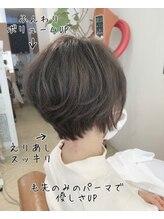 ファミーユ ヘア(Famille Hair)30、40代人気☆ふんわり大人ショート、毛先パーマ☆小顔