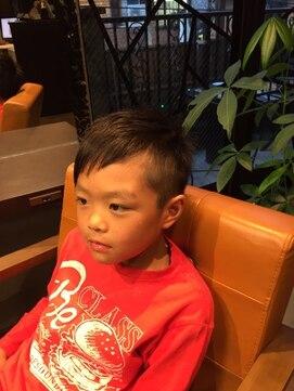 【covo/takahashi】 kids cut アシンメトリー