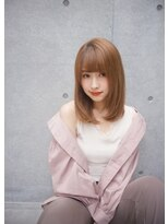 ジーナシンジュク(Zina SHINJYUKU)【Zina】ナチュラルストレートうる艶カラー