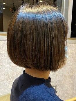 ピッツ 海浜幕張(Pits)の写真/縮毛矯正を卒業?!髪質改善の極~KIWAMI~で自分史上最高の光り輝く髪へ。[海浜幕張/髪質改善/TOKIO]