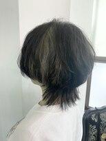 遊人セントラル(CENTRAL)インナーカラー☆ラビットカラー&ウルフカット☆