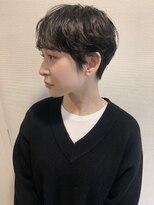ストア バイ アンバースデー(Store by UNBIRTHDAY)ベリーショート/黒髪/マニッシュ【新田知鶴】