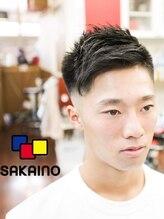 サカイノ(SAKAINO)フェードカット